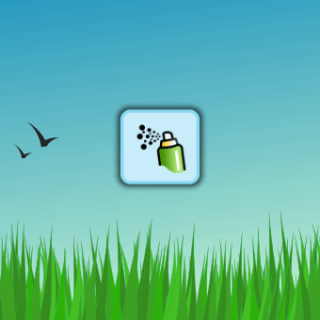 Inkscape Simple Grass
