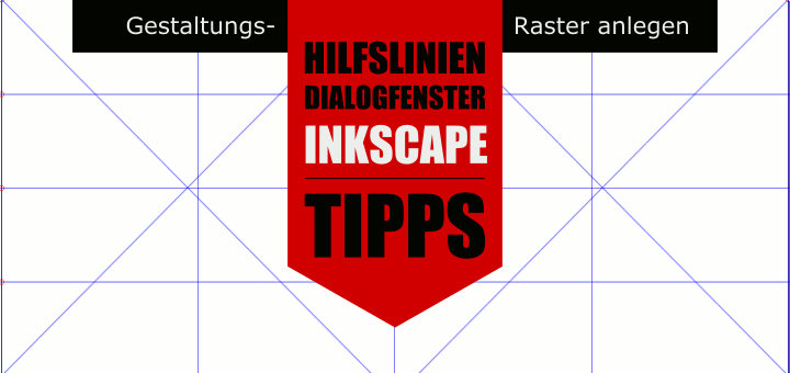 Inkscape Gestaltungsraster