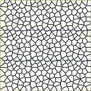 Nachgezeichneter Voronoi-Pfad