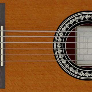 Blender Showroom Classic Guitar