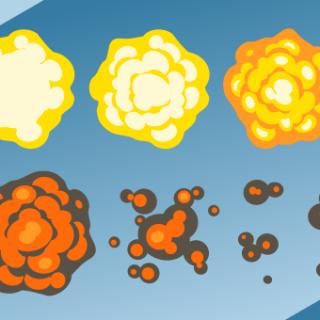 Inkscape Game Blast Animation