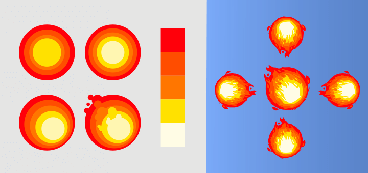 Inkscape Vector Fireball