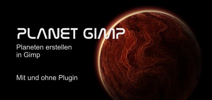 Planeten in Gimp