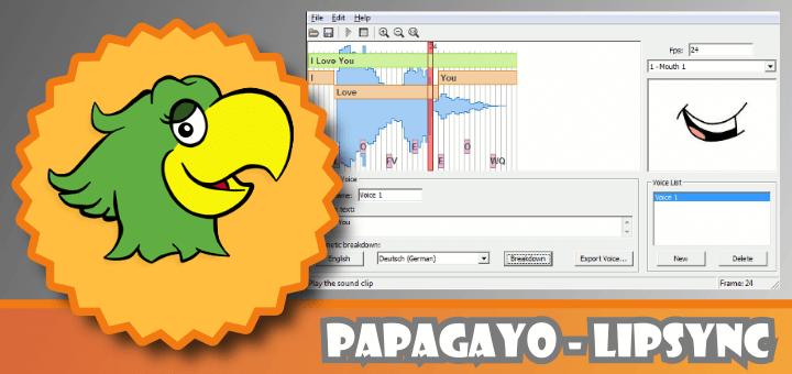 Papagayo Lipsync