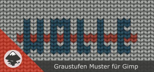 Inkscape Graustufen-Muster für Gimp