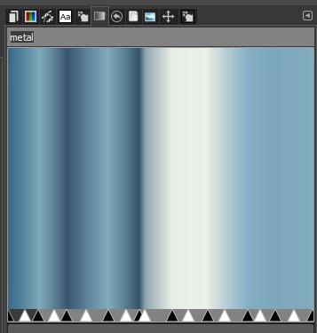 Farbverlauf mit kühlen Farben
