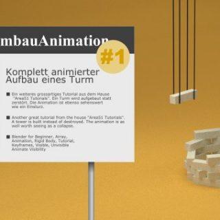 Blender Animated Array