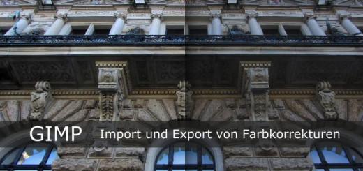 Gimp Kurven Import Export