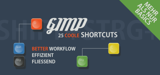 25 Shortcuts für Gimp Users