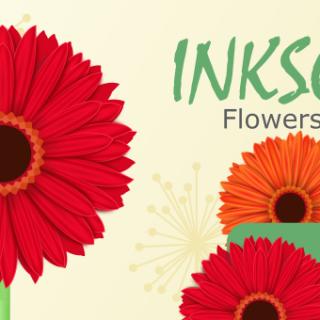 Inkscape Flowers Final Part