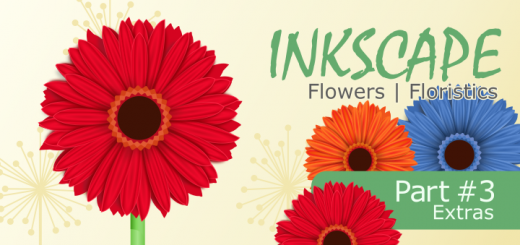Inkscape Flowers Final Part