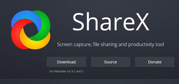 ShareX Screen Capture