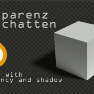 Blender rending Shadow