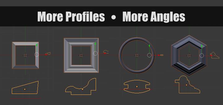 Blender more Angles