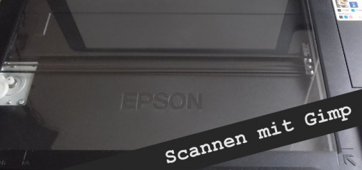 Gimp import Scan