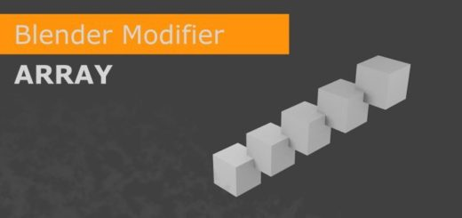 Array Modifier Part 1/2
