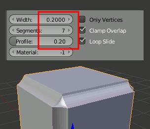 Blender Bevel Profile