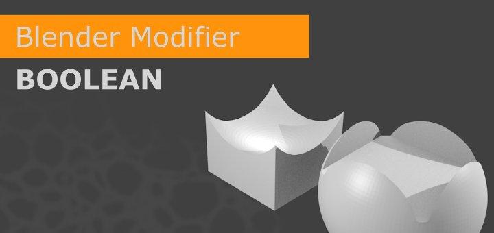 Blender Boolen Modifier