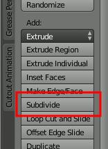 Tool Shelf Subdevide