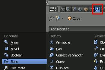 Add Build Modifier
