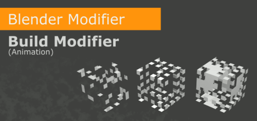 Blender Build Modifier