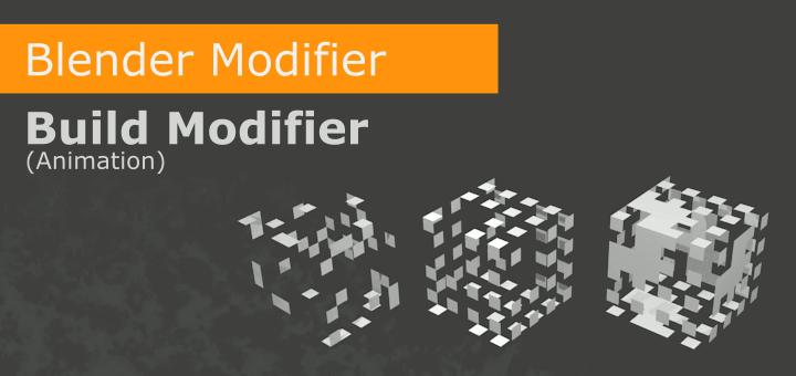 Blender Build Modifier