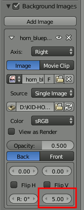 Blender Image Settings