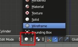 Blender Wireframe View