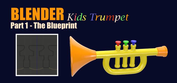 Blender Kids Trumpet 1