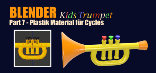 Blender Kids Trumpet Part 7