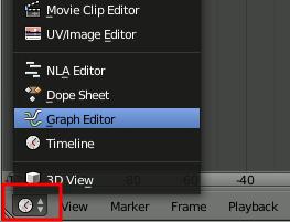 Blender - Graph Editor