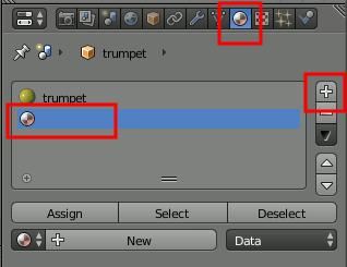 Blender Material Slot