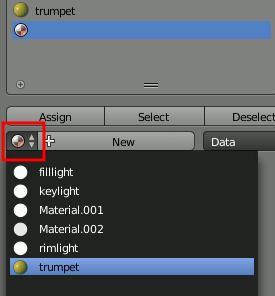 Blender Materials