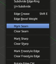Mark Seam