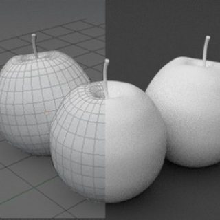 Blender Apple Modelling