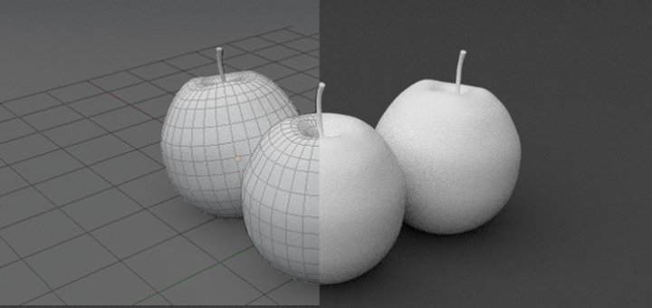 Blender Apple Modelling