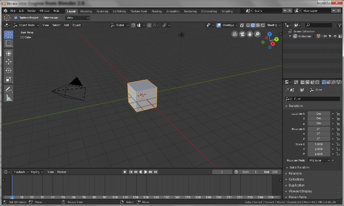 Blender Evolution Release 2.8