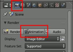 Blender Start Animation Render