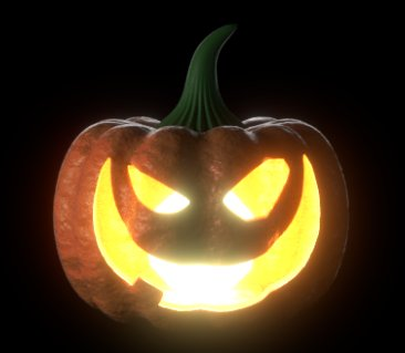 Blender Pumpkin