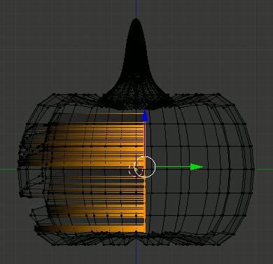 Blender delete Vertices