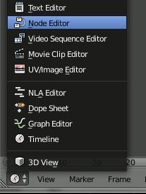 Blender Node Editor