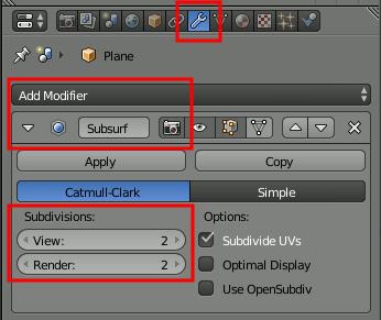 Subdivision Surface-Modifier