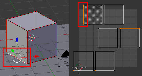 Blender UV Edge-Select Mode