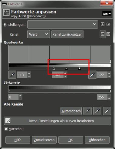 Gimp Chrome Font with Bumpmap Step 8