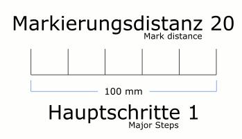 Blender Ruler Path Effect