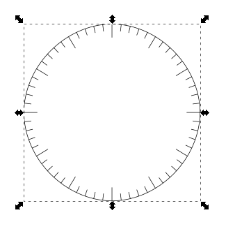 Inkscape Clock