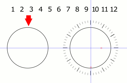 Inscape Clock Numbers