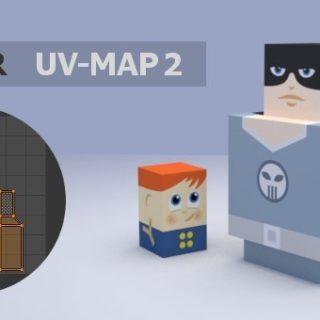 Blender using UV Maps