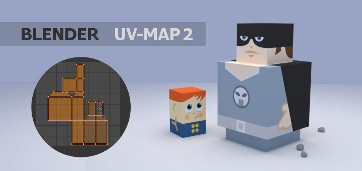 Blender using UV Maps