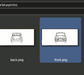 Blender 2.8 load Blueprint